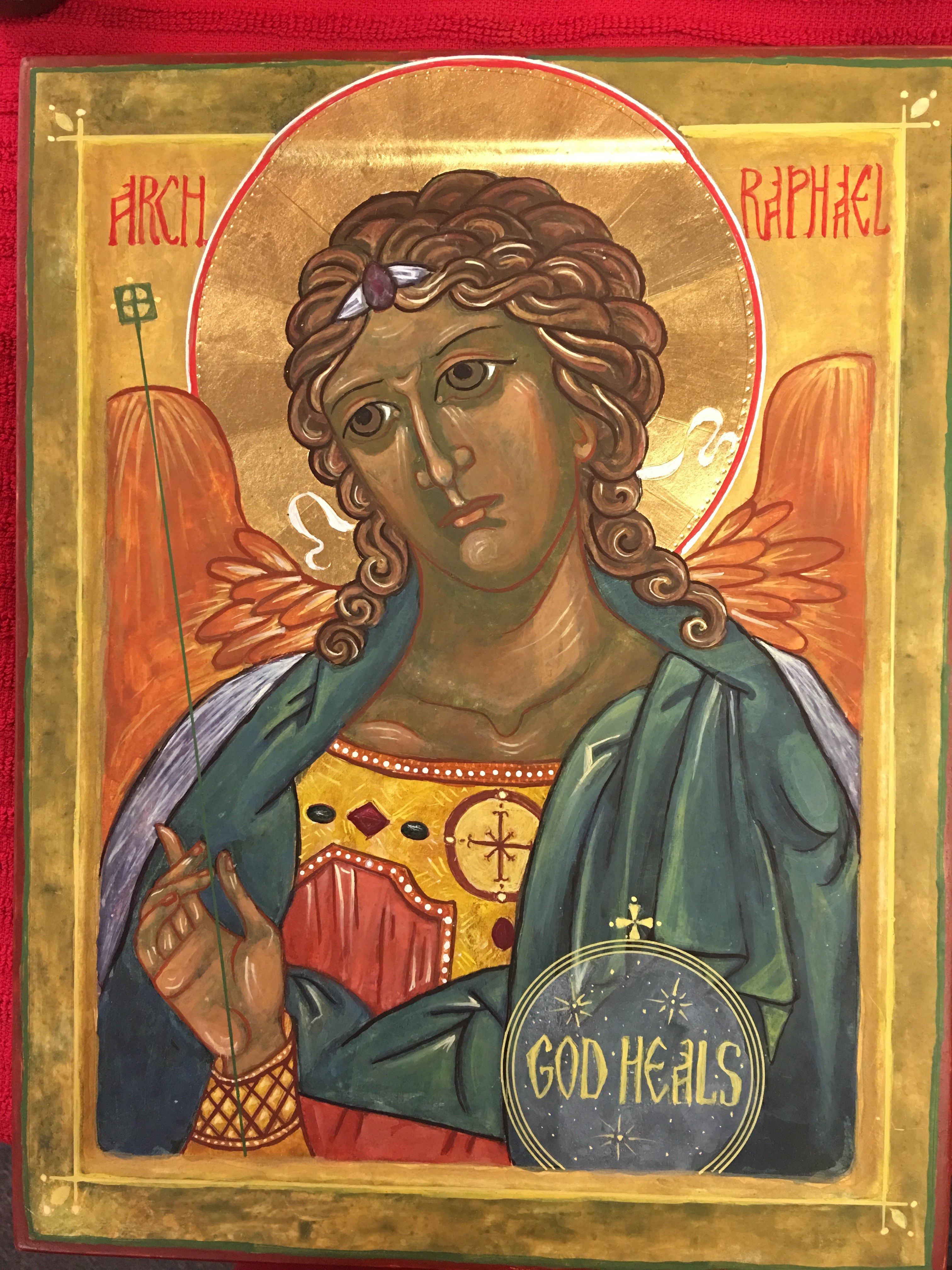 Archangel Raphael: the icon, in what helps, the prayer for healing 79